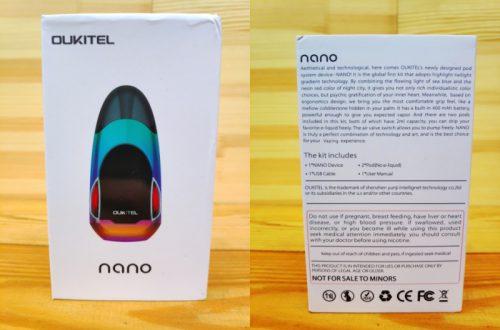 Новый POD Oukitel Nano, когда не прет со смартфонами..