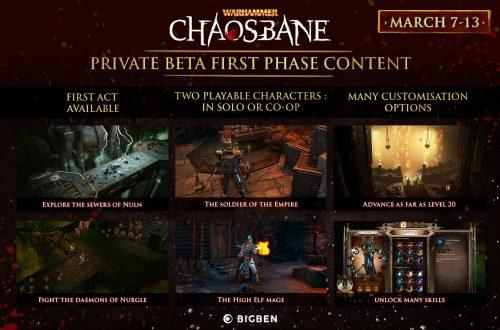 Warhammer: Chaosbane - Начинается закрытый бета-тест
