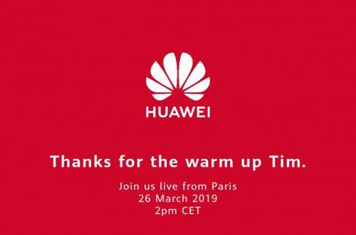 Huawei высмеяла вчерашнюю конференцию Apple и поблагодарила Тима Кука за «разогрев публики» перед сегодняшним анонсом Huawei P30