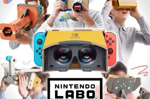 Nintendo анонсировала новый набор Labo — он превращает Switch в VR-шлем