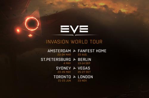 EVE Online  — Начинается мировой тур EVE World Tour 2019