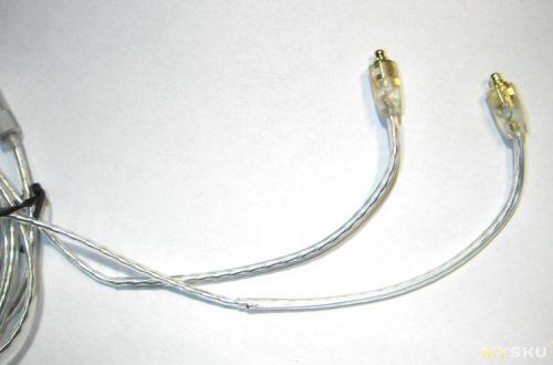 Очень приличный кабель для наушников.
