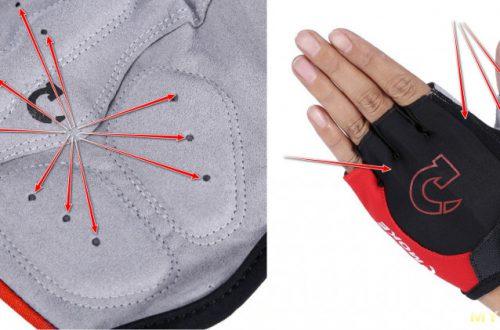 Велоперчатки без пальцев СMOKE