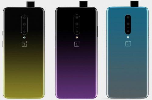 От черного к желтому и фиолетовому: OnePlus 7 удивит цветовыми вариантами корпуса
