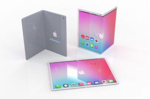 Ответ сооснователю Apple. Так может выглядеть складной iPad с гибким экраном