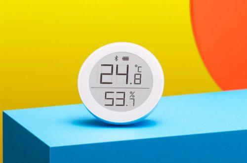 Термометр и гигрометр с экраном E Ink и Bluetooth: представлено новое устройство Xiaomi Miija