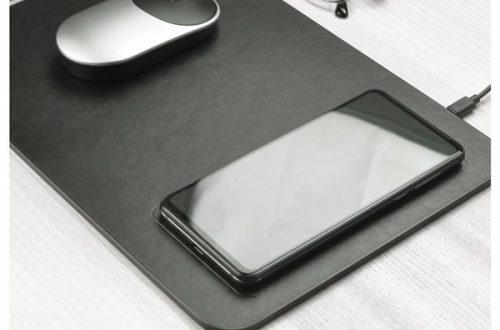 Xiaomi представила коврик для мышки за $15 со встроенной беспроводной зарядкой для смартфона