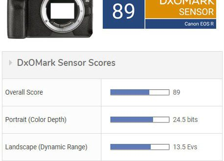 Canon EOS R заметно уступает моделям Sony A7III и Nikon Z 6 в тесте DxOmark