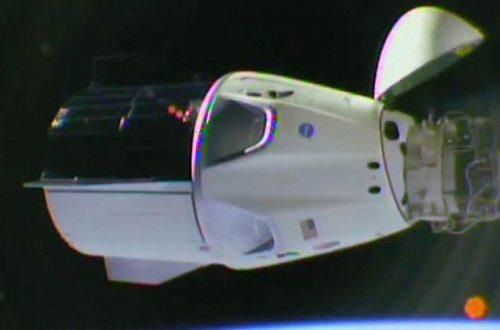 Космический корабль SpaceX Crew Dragon успешно пристыковался к МКС