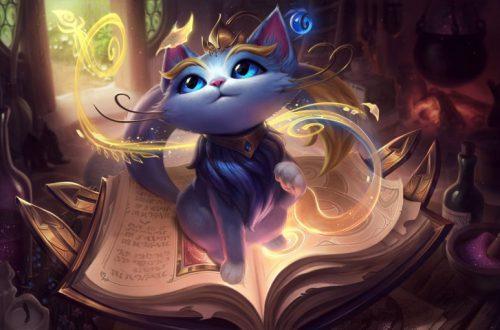 Новым чемпионом League of Legends стала волшебная кошка Юми