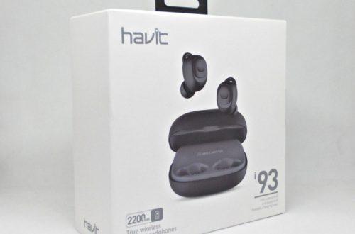 Беспроводная гарнитура HAVIT I93 – Bluetooth v. 5.0, IPX5, зарядный бокс 2200 mAh