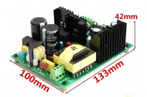 Промо акция на ипульсный БП для аудио усилителя 500Вт +/-35 В за US$29.99