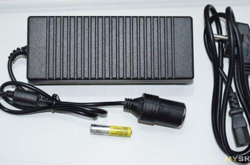 YH-CZ 12В 10А сетевой БП с выходом на прикуриватель