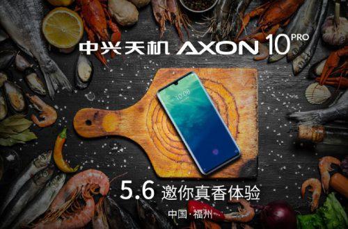 Еще одним с поддержкой 5G стало больше: 6 мая будет выпущен смартфон Axon 10 Pro 5G