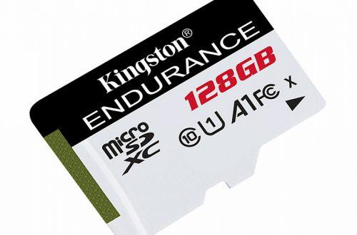 В серию Kingston Digital High Endurance вошли карты microSD объемом до 128 ГБ