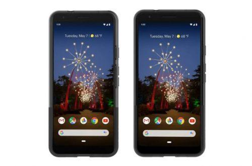 В сеть утекли первые официальные изображения Google Pixel 3a и Pixel 3a XL
