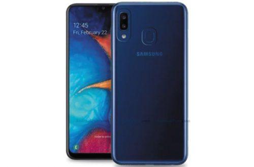 Galaxy A20e будет одним из самых компактных смартфонов Samsung нового поколения