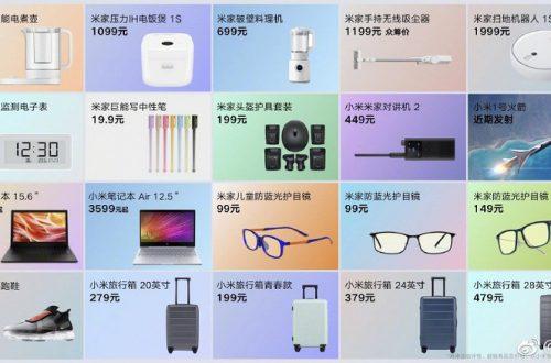 Цунами новинок. Xiaomi представила 20 продуктов
