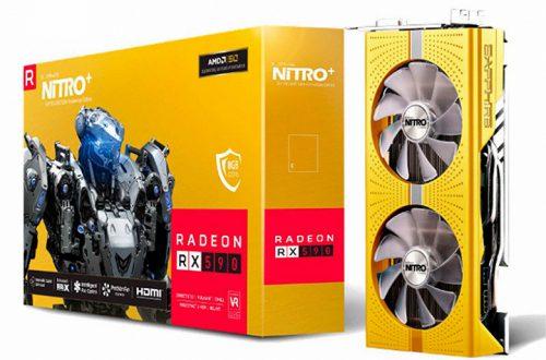 Sapphire подготовила специальную версию 3D-карты Nitro+ Radeon RX 590 к 50-летию компании AMD