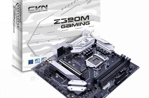Плата Colorful CVN-Z390M Gaming V20 предназначена для систем начального и среднего уровня