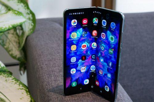 Дисплей гибкого смартфона Samsung Galaxy Fold высоко оценён с точки зрения комфорта для глаз