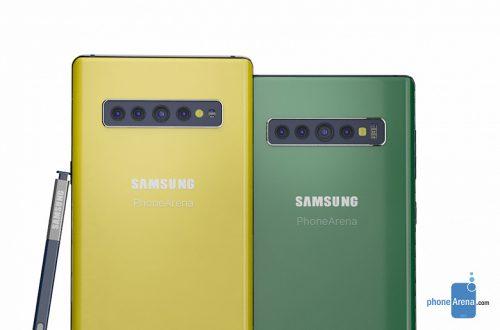 По стопам Galaxy S10 и S10e. Samsung готовит компактный Galaxy Note10