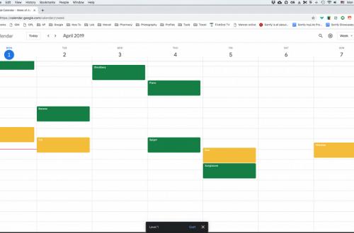 Во второй игре Google предлагает «уничтожать» собственные записи в календаре
