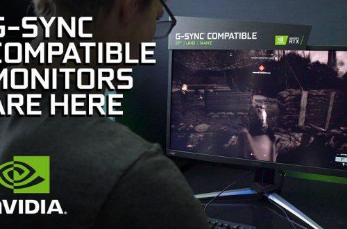 Nvidia расширит список мониторов, «совместимых с G-Sync»