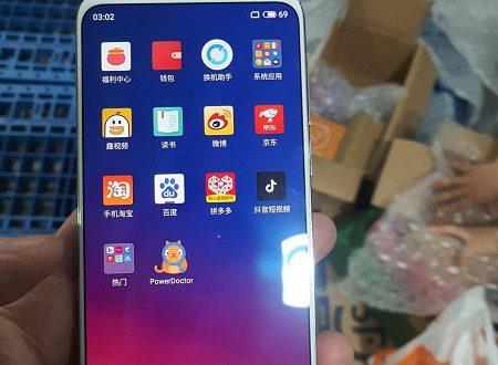 Фото дня: рабочий смартфон Meizu 16S в руках пользователя