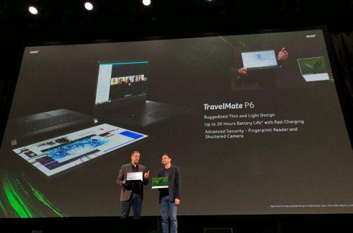 Представлен 14-дюймовый бизнес-ноутбук Acer TravelMate P6: масса 1,1 кг и до 20 часов автономности