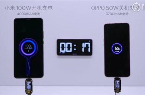 Флагманский смартфон Xiaomi Mi Mix 4 может получить зарядку мощностью 100 Вт