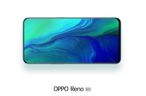 Почти как у Oppo Find X. Экран Oppo Reno занимает 93,1% площади лицевой панели