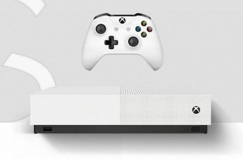 «Цифровая» консоль Microsoft Xbox One S All-Digital представлена официально: $250 за саму приставку и 100 игр по подписке за $15 в месяц