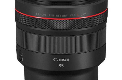 Дорогое удовольствие. Представлен портретный объектив Canon RF 85mm f/1.2L USM
