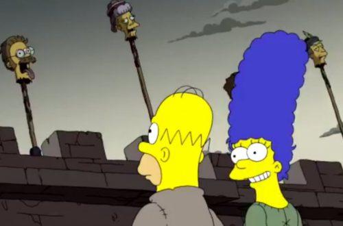 В «Симпсонах» предсказали сюжет последнего сезона «Игры престолов»