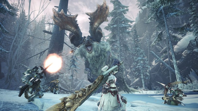 Capcom подробно показала геймплей Monster Hunter: World — Iceborne