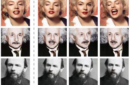Российские разработчики оживили портреты Достоевского, Мэрилин Монро и Эйнштейна