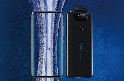 Система защиты камеры Asus ZenFone 6 в действии