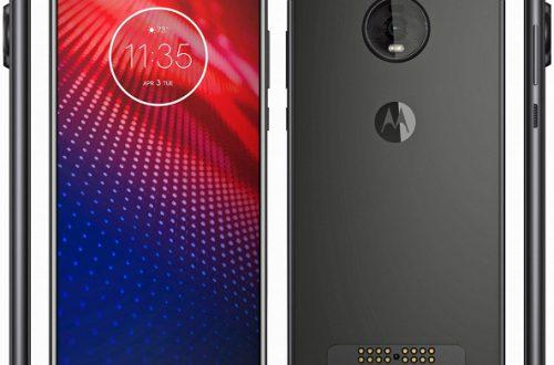 Апгрейд экрана, даунгрейд камеры. Опубликован официальный рендер смартфона Moto Z4