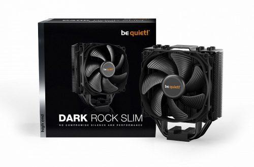 Система охлаждения be quiet! Dark Rock Slim предназначена для процессоров с TDP до 180 Вт