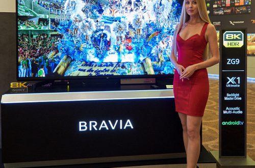 Sony впервые представила телевизор 8K HDR в России