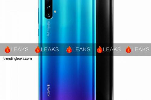 Рендер демонстрирует возможный дизайн Huawei Nova 5