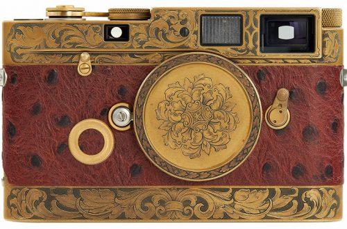 Камера Leica MP «John Botte», на создание которой потребовалось более двух лет, будет выставлена на аукцион