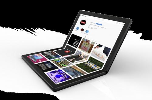 Lenovo показала прототип ноутбука с гибким экраном OLED – таким может стать ThinkPad X1 следующего поколения