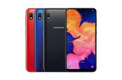 Samsung Galaxy A10s получит улучшенные камеру, SoC, аккумулятор, а также дактилоскопический датчик