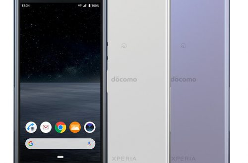 Sony представила компактный смартфон Xperia Ace