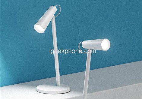 Перезаряжаемая настольная лампа Xiaomi Mijia Rechargeable Desk Lamp работает около 40 часов