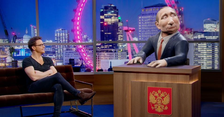 """BBC запускает ток-шоу """"Вечер с Владимиром Путиным"""""""