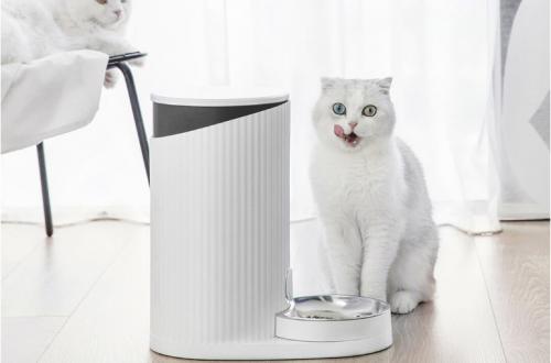 Xiaomi создала управляемую со смартфона кормушку для котиков