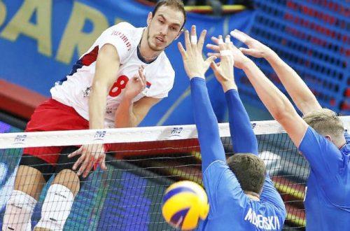 Волейбол Россия Сербия лига наций 2019 мужчины где смотреть онлайн